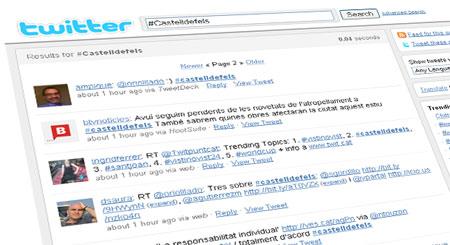 Twitts amb la paraula clau #Castelldefels.